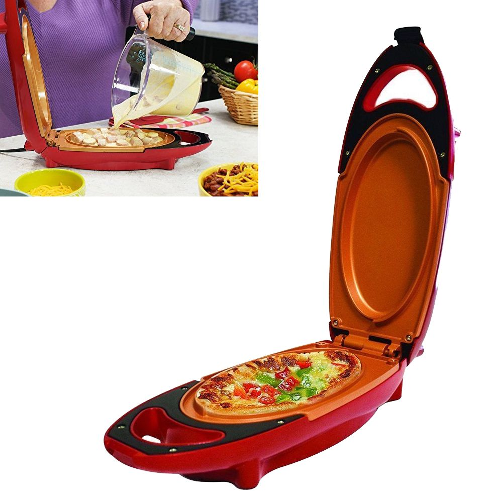 Electric 5-Minute Chef Omelette Maker Frying Pan Egg Cooker Non Stick