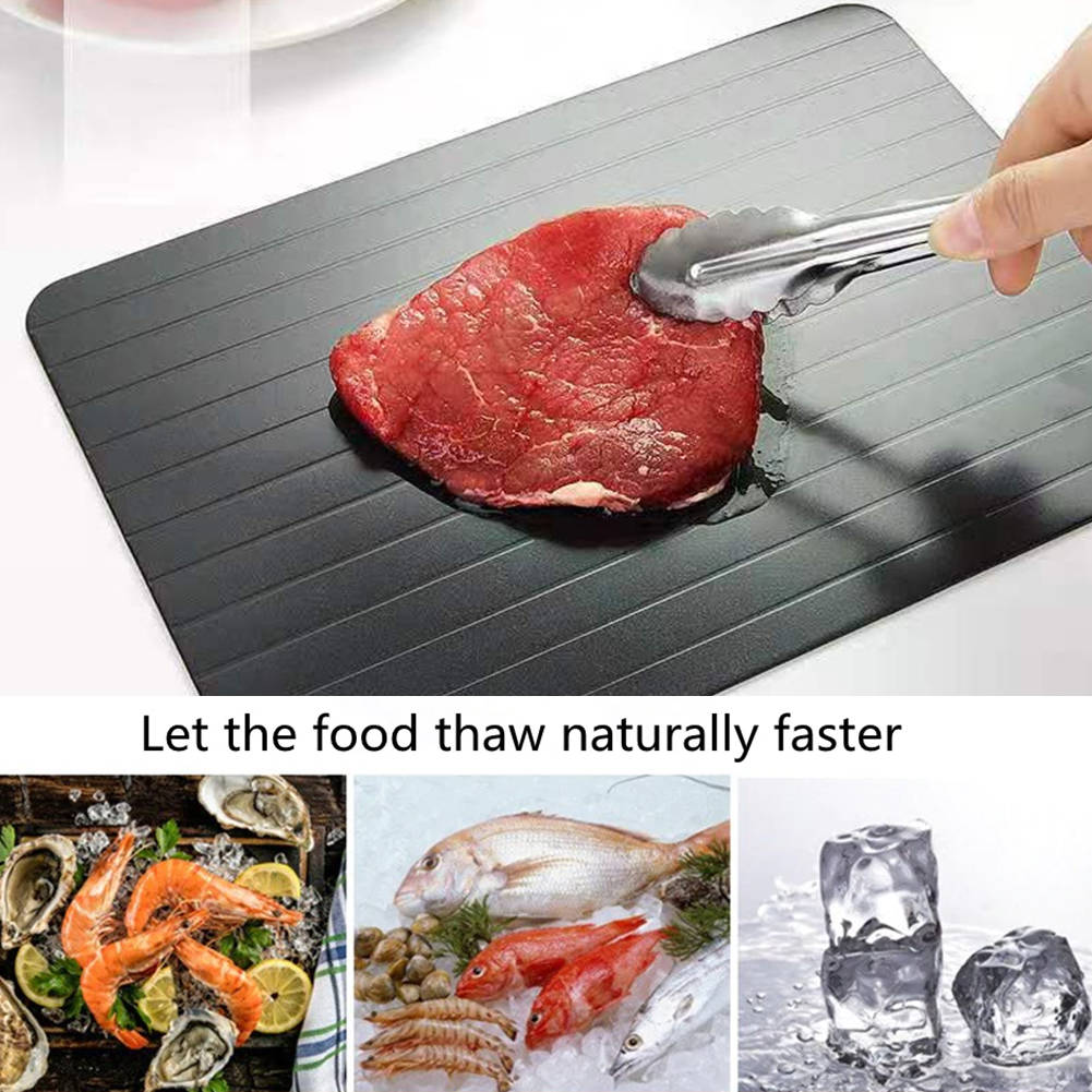 Fast Rapid Thawing Defrosting Tray for Defrost Frozen Steak Porks Tool
