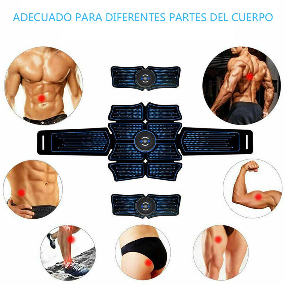 ABS Muscle Stimulator Electric Abdominal Toning Belts Fitness Muscle Trainer