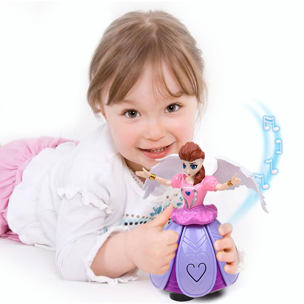 Girls Dancing Princess Doll LED Light Toy