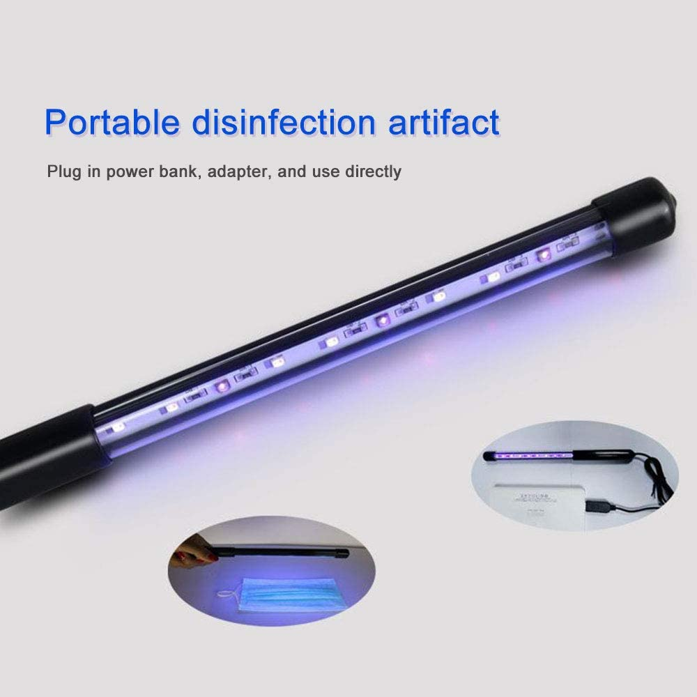 Portable 3W USB Ultraviolet Sterilizer UV Light Germicidal Lamp Disinfection
