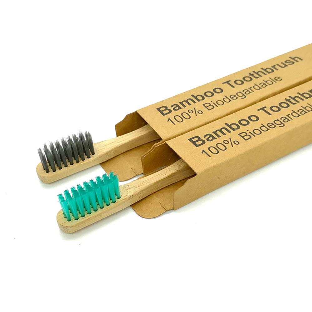 Natural Charcoal Bamboo Toothbrush
