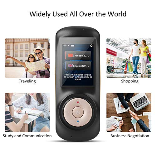 Smart WiFi Language Translator Device with Voice 2.4 Inch Touch Screen 70 Languages