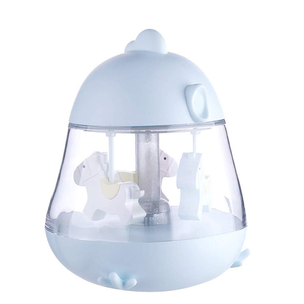 Creative Carousel Music Box Light Touch Screen Music Night Lamp