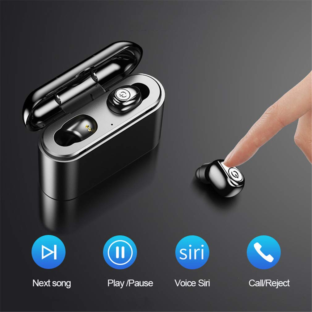 Mini Bluetooth 5.0  Earbud Headphones 3D Stereo Sound