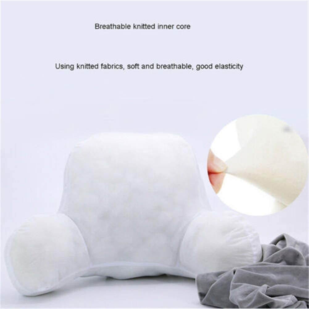 Backrest Pillow with Arm Support Lounge Cushion Support