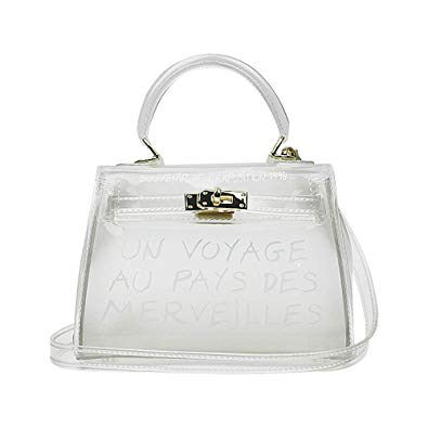 Transparent Jelly Beach Crossbody Bag