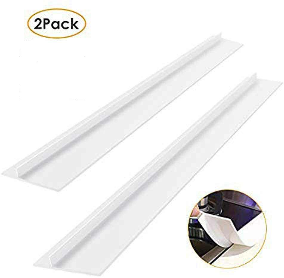 2 Pack Kitchen Silicone Stove Counter Gap Cover