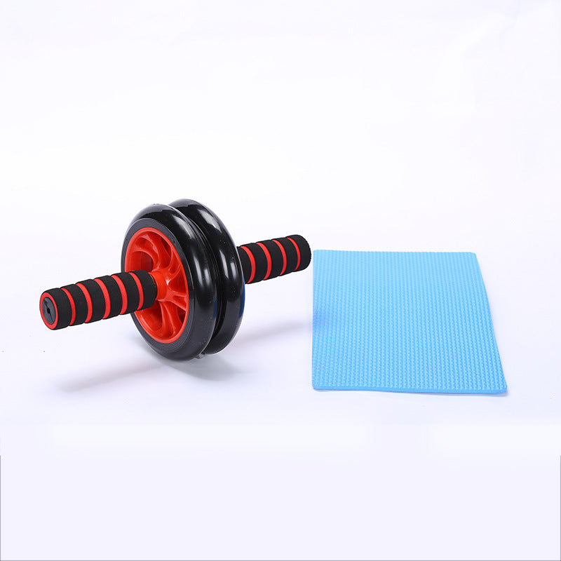 Abdominal Ab Roller Wheel Home Workout Equipment for Core Exercise With Mat