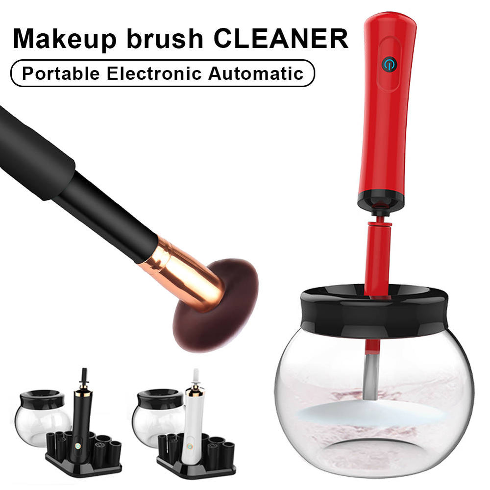Electric Makeup Cosmetic Brushes Cleaner Drying Washing Machine Tool