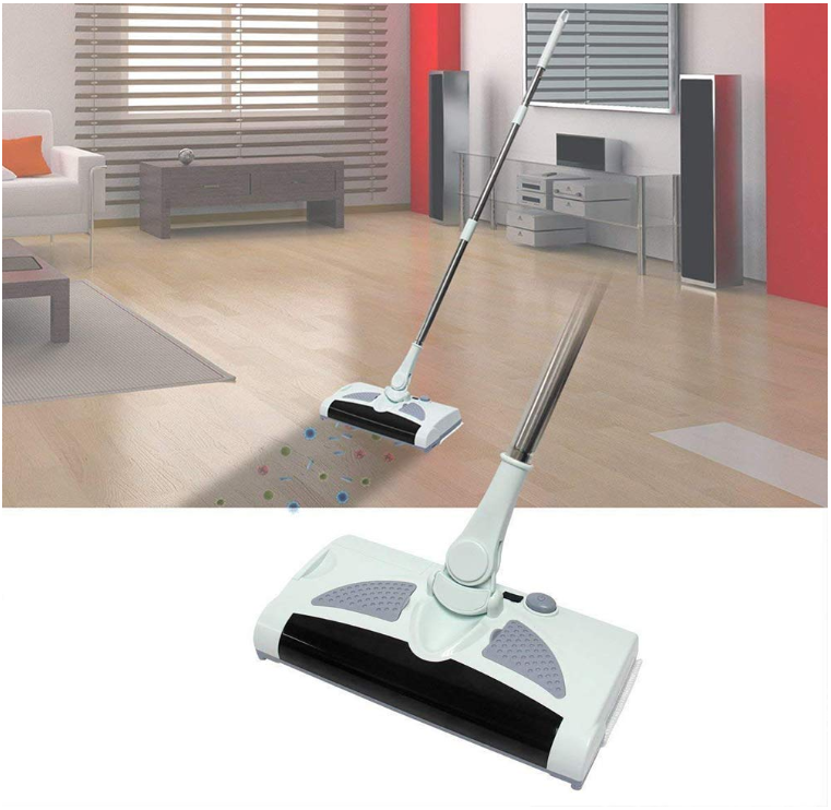 Electric 2 in 1 Cordless Rechargeable Sweeper Mop
