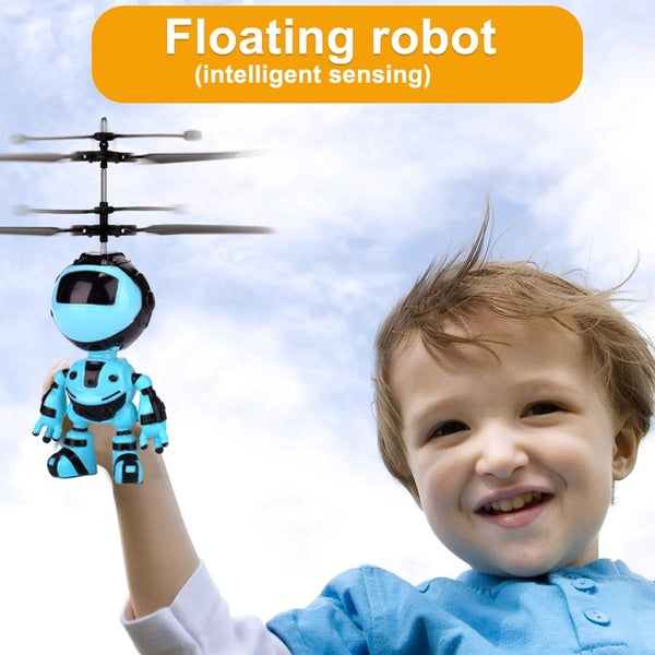 Rechargeable Infrared Induction Robot Fly Toy