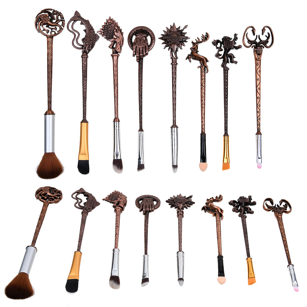 8pc/Set Hot Game of Thrones Inspired Makeup Brushes Set