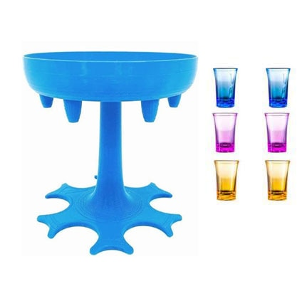 6 Shot Drink Dispenser and Holder