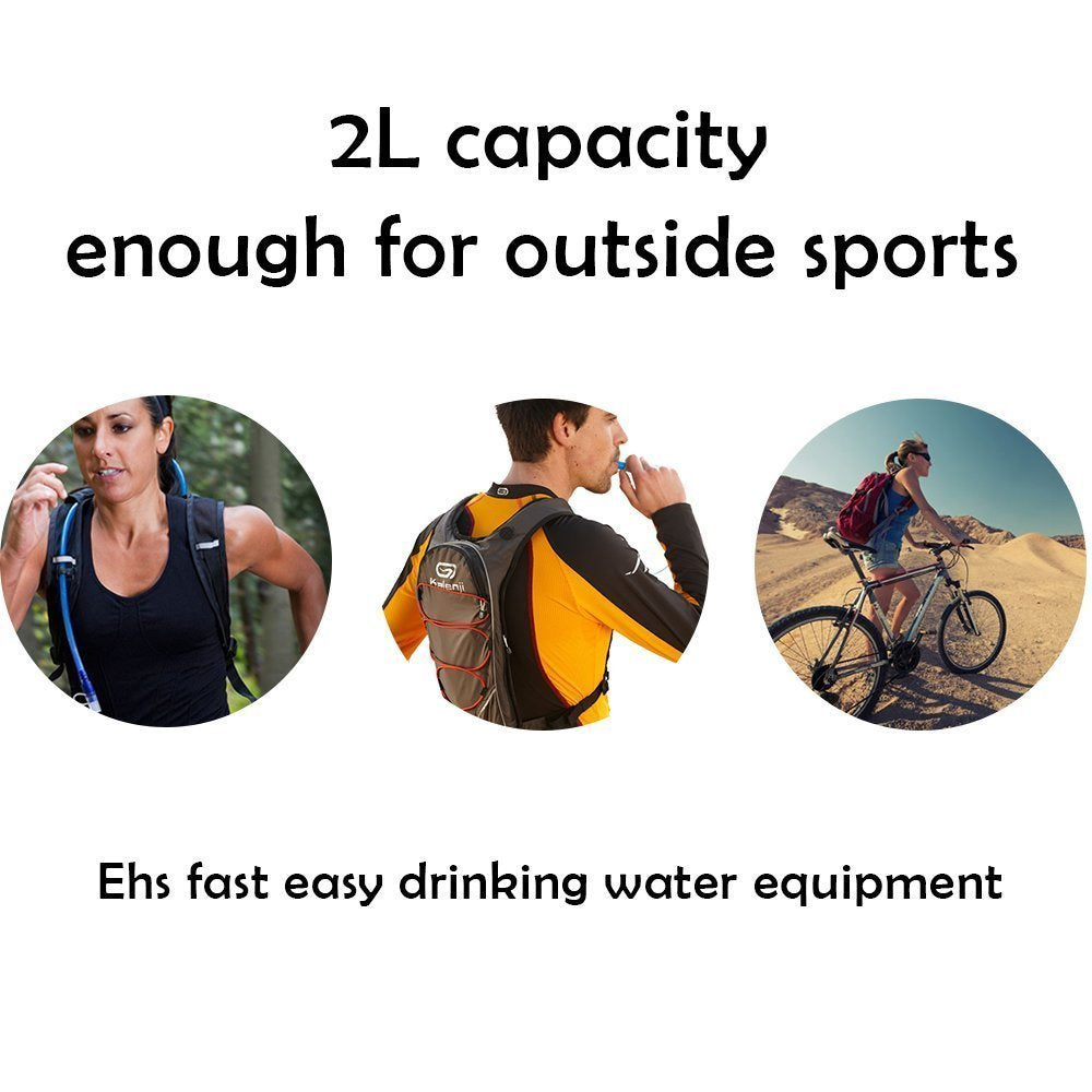 2L Hydration Bladder Bag Cycling Water Bag