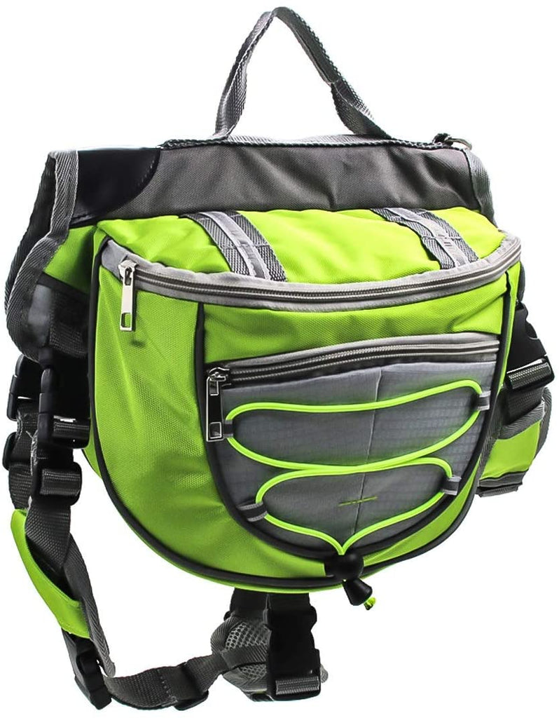 Pet Backpack Dog Saddle Bag Harness Bag