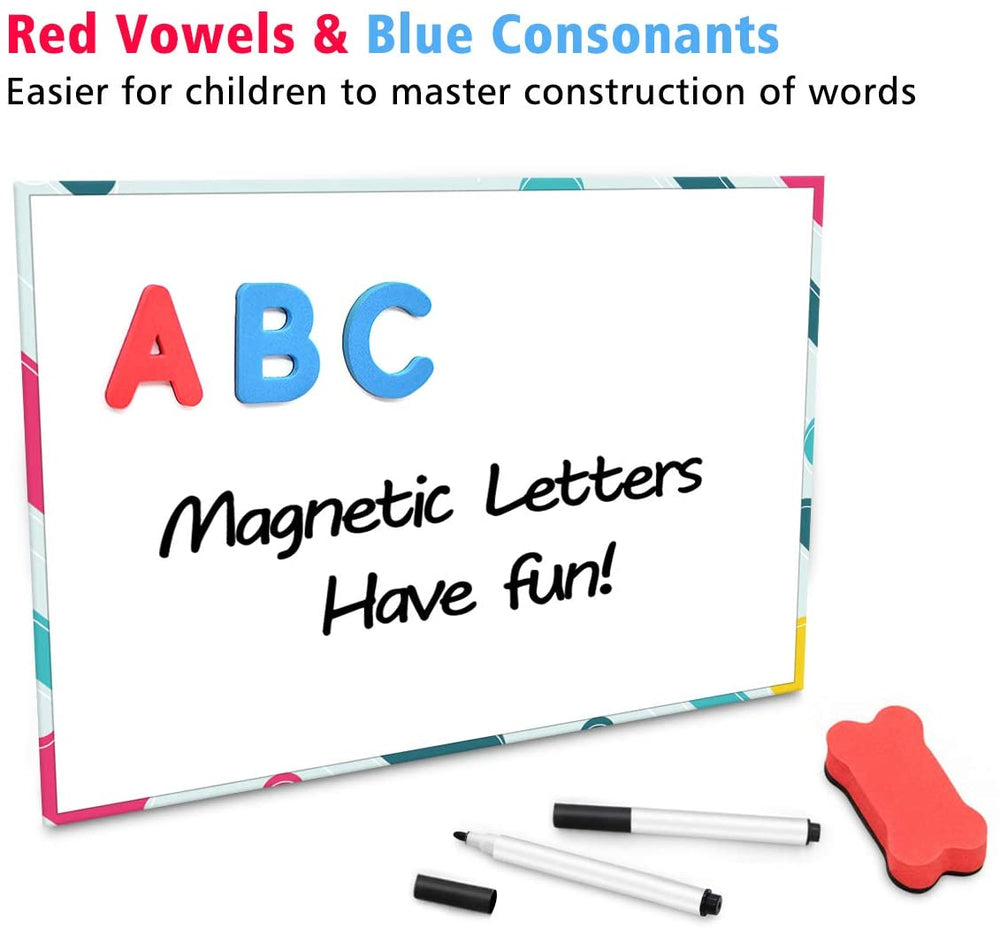 238Pcs Foam Magnetic Letters Alphabet Letters Board With Storage Box