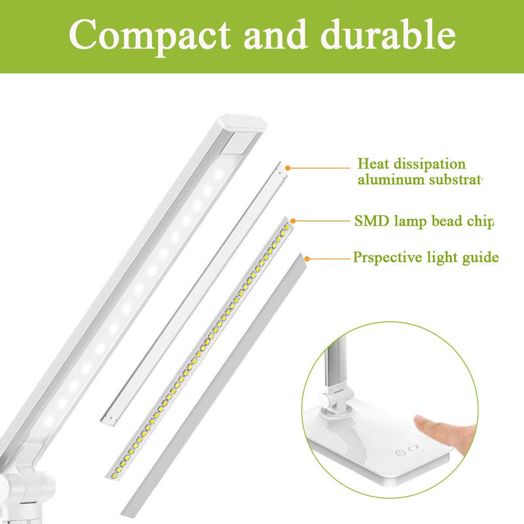 5W LED Table Touch Control Reading Lamp