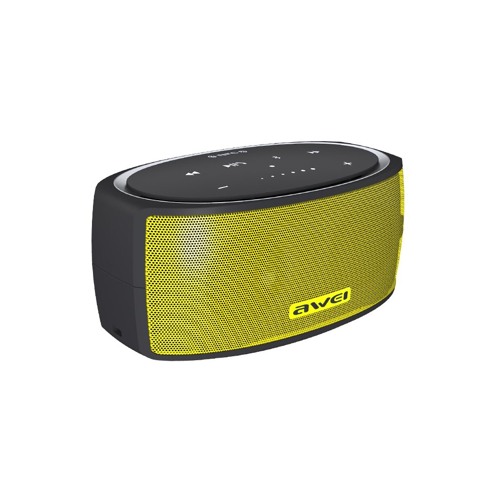 AWEI Y210 Touch Portable NFC Bluetooth Wireless Speaker with AUX CVC 6.0 Noise Reduction
