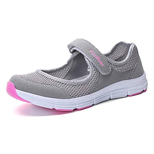 Women Lightweight Elastic Slip-On Sport Shoes