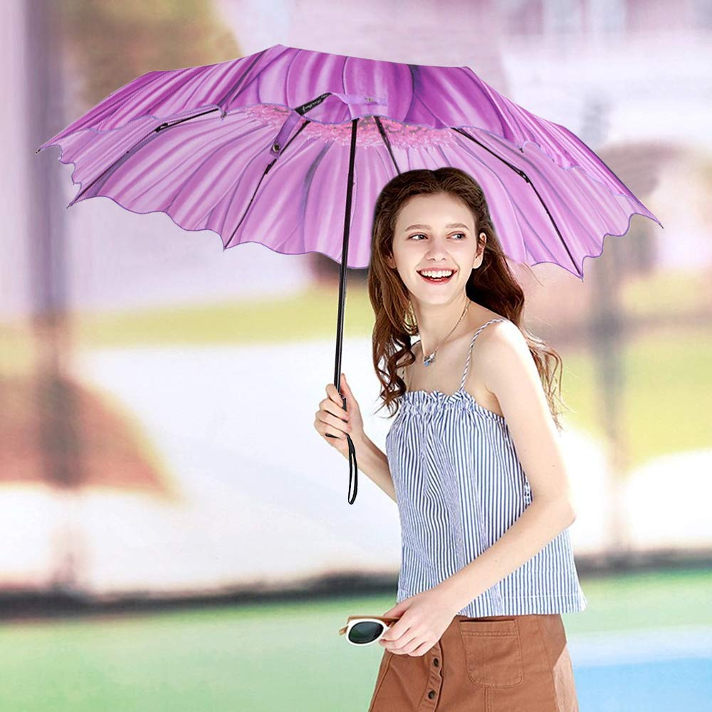 Windproof Lightweight Automatic Auto Umbrellas