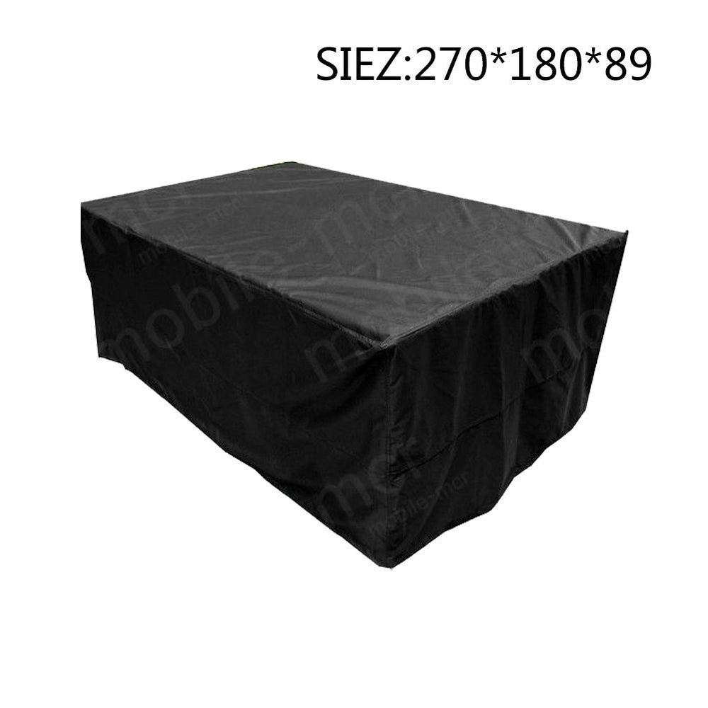 Waterproof Patio Furniture Cover Garden Rattan Table Cover