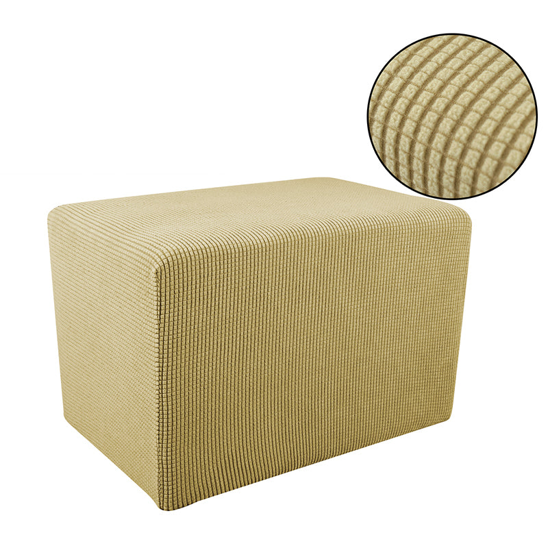 Stretch Ottoman Cover Footrest Footstool Protector Covers