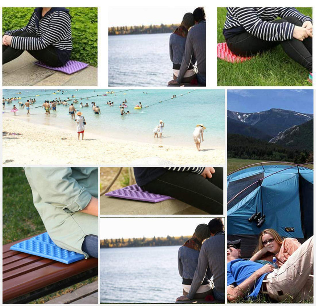 5 Pack Waterproof  Outdoor Portable Folding Foam Seat Pad