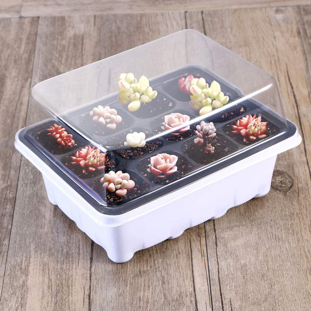 5/10 Pack Seed Starter Tray Seedling Starter Trays Kit Greenhouse Supplies