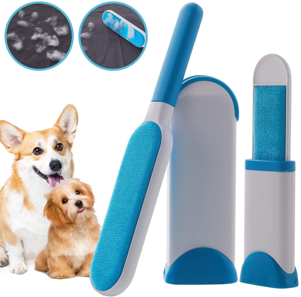 2 Pack Magic Pet Hair Remover Lint Remover Brush