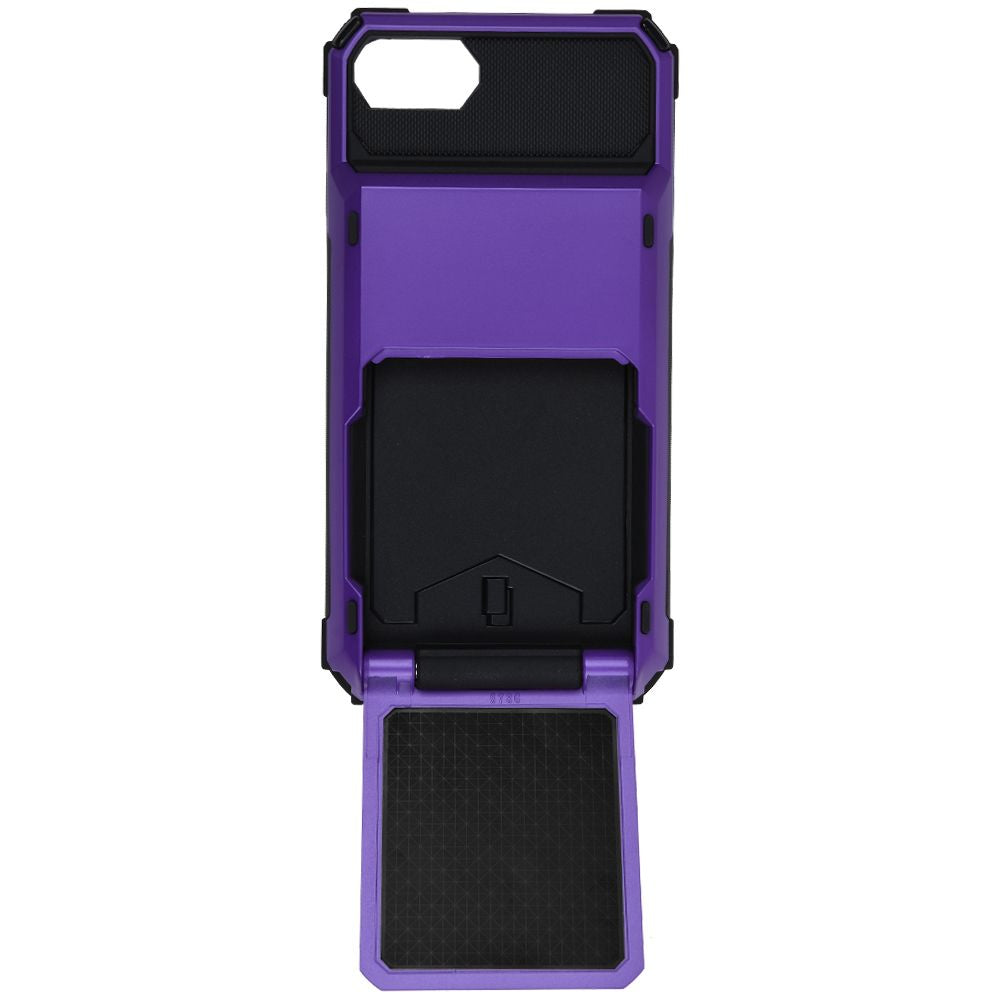 Max Shockproof Rugged Case Cover With Card Holder For iPhone