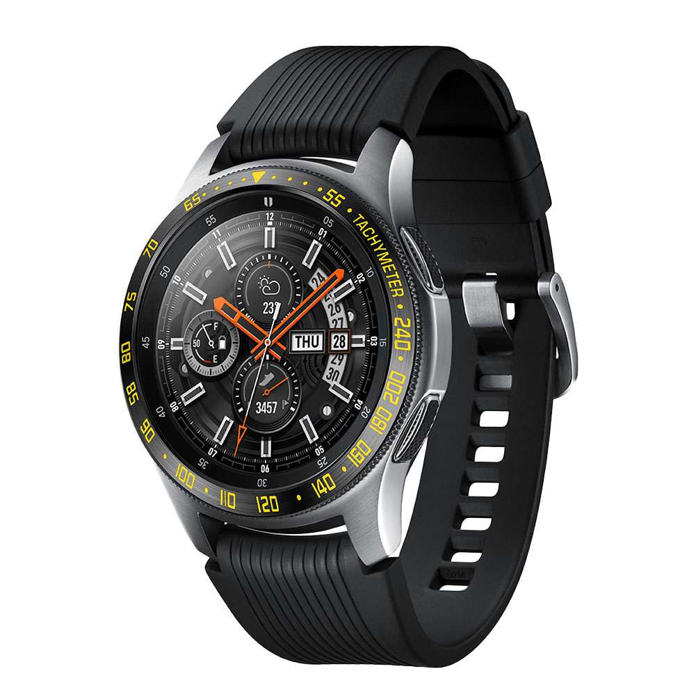 For Galaxy Watch 46 mm Bezel Styling Ring Case Cover Anti Scratch Protection