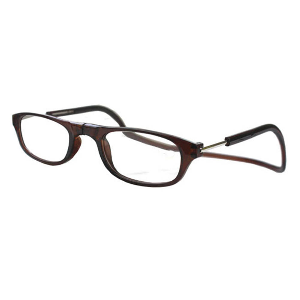 Front Connect Magnetic Adjustable Reading Glasses Anti-fatigue