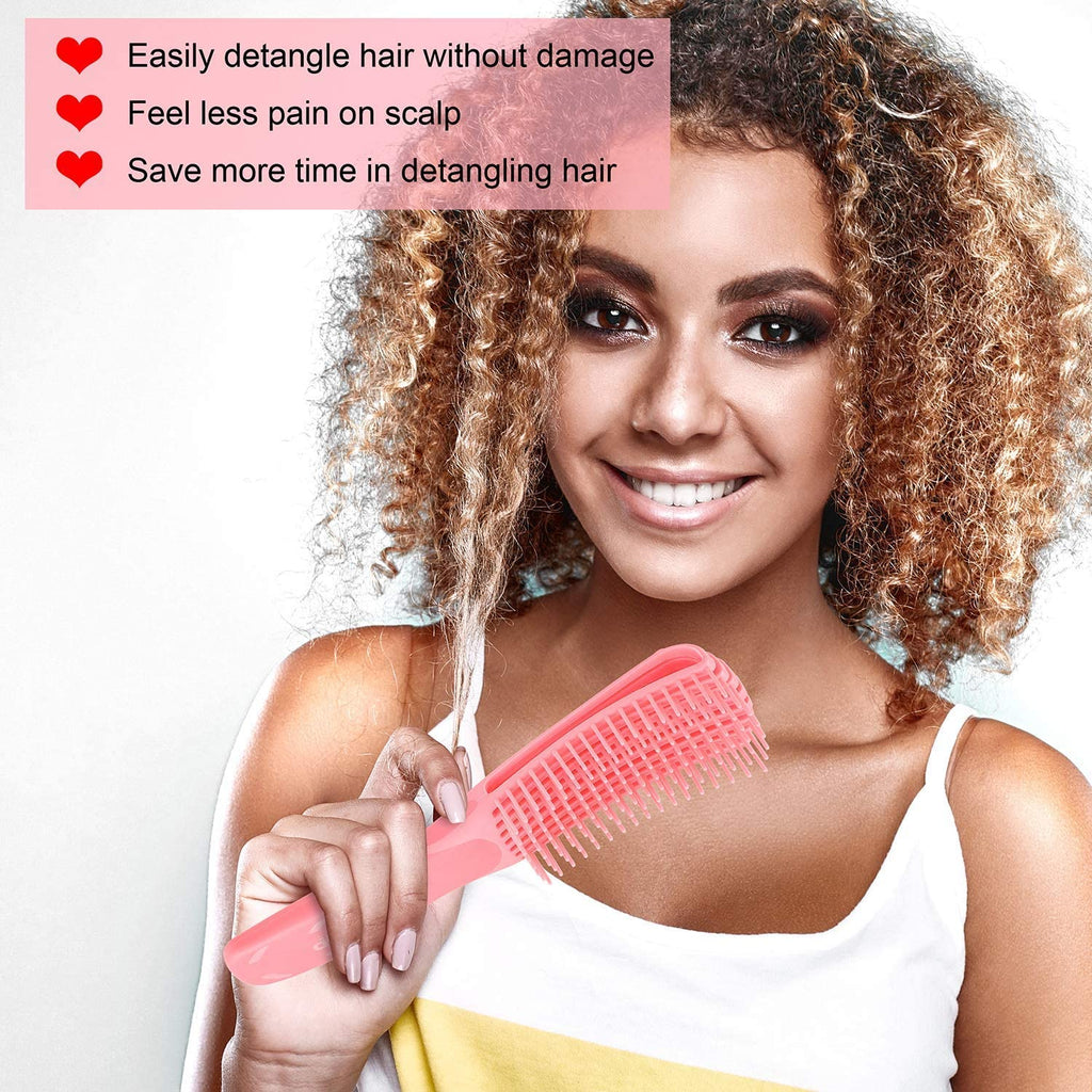 Detangling Hair Brush Massage Comb Wet Curly Hair Comb