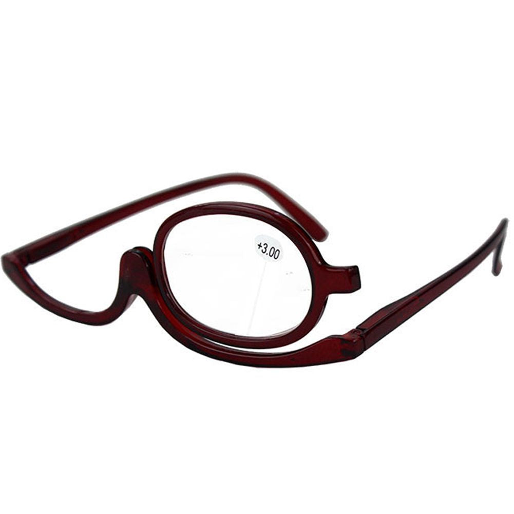 Folding Makeup Magnifying Reading Flip Make-up Glasses Eyeglasses