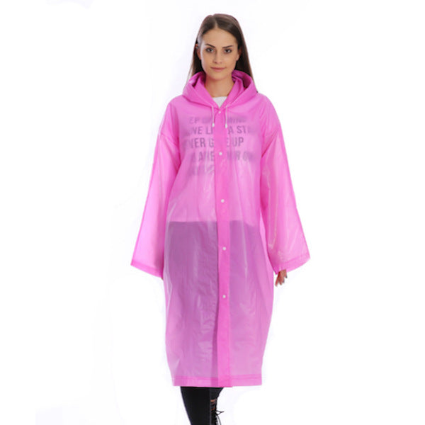 Unisex Reusable Raincoat Outdoor Rainwear