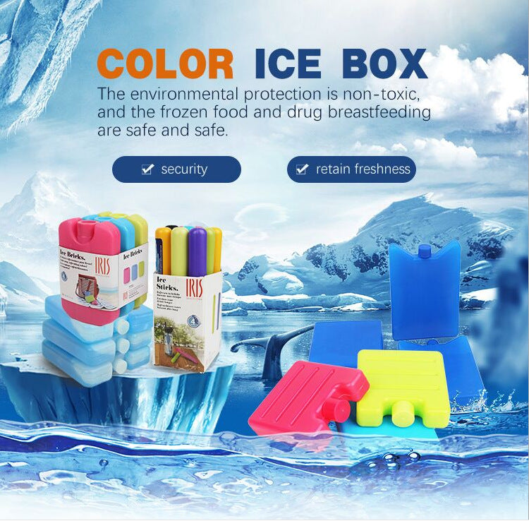 Reusable Ice Pack for Lunch Box and Cooler  and Long Lasting