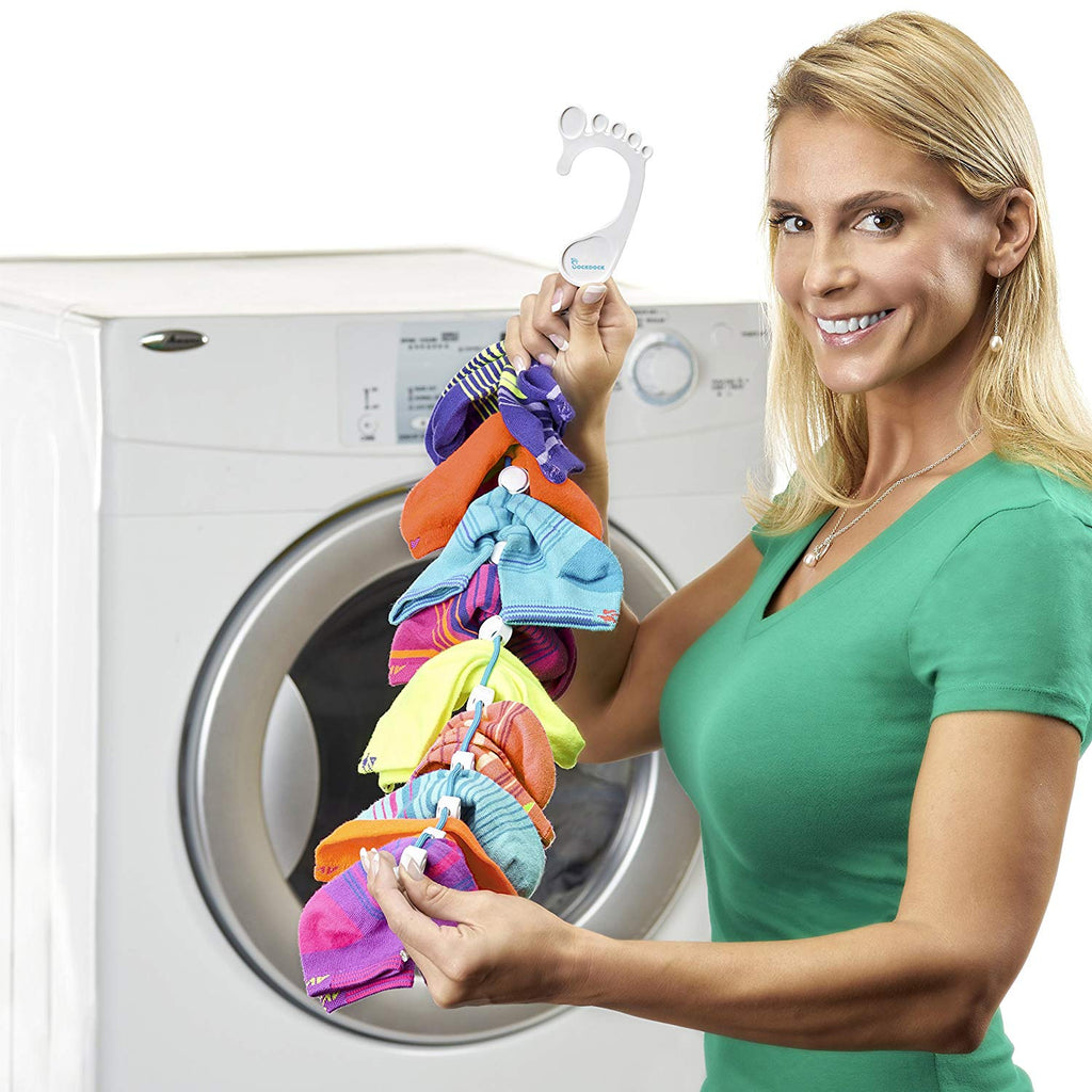 Sock Organizer Storage Wash Dry Foot-shaped Hanger