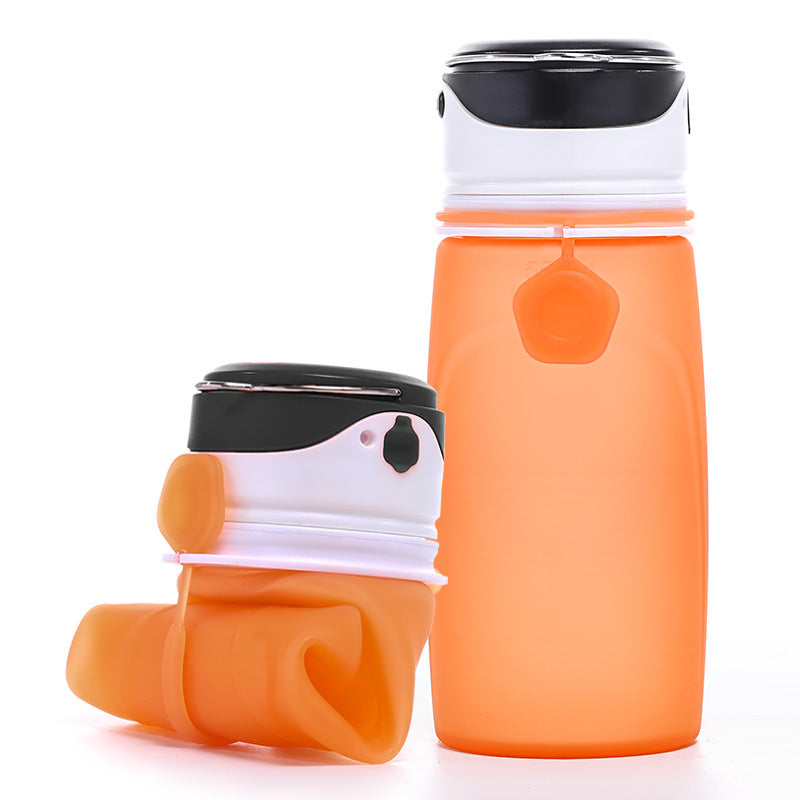 LED Rechargeable Water Bottle Lighting Running Luminous Outdoor SOS Emergency