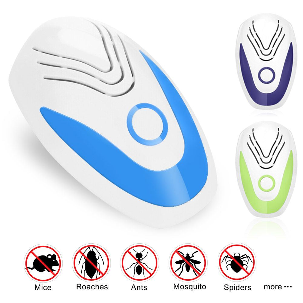 Ultrasonic Pest Repeller Plug-In Electronic Insect Repellent