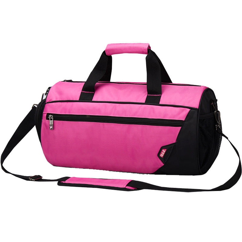 Sports Gym Bag with Shoes Compartment Travel Duffle Bag