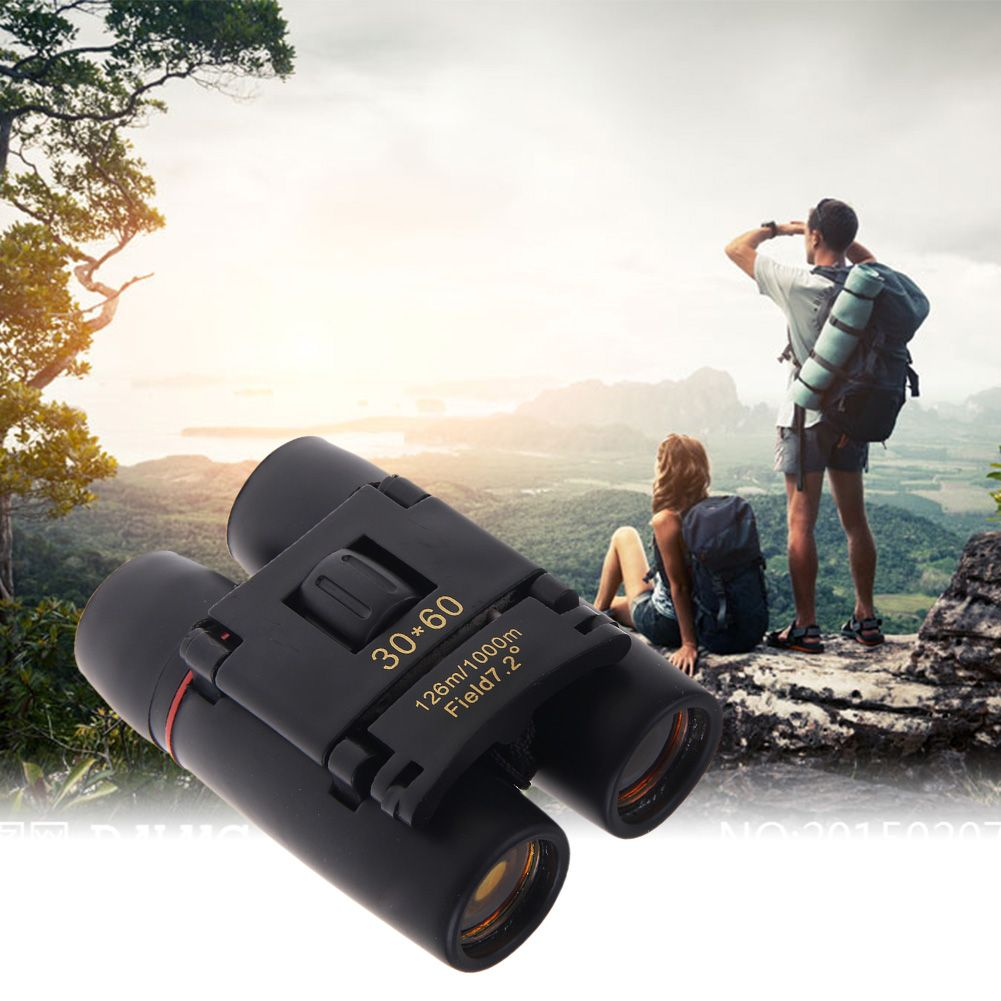 30x60 Zoom Outdoor Travel Foldable Day Night Vision Binoculars Telescope