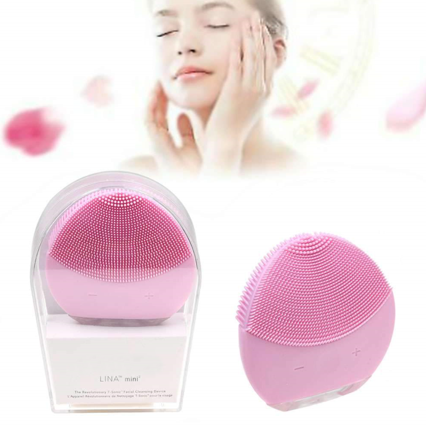 Rechargeable Sonic Facial Cleansing Brush