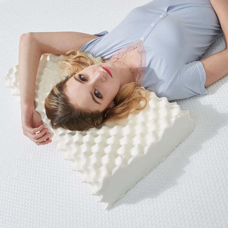 Natural Latex Pillow Neck Shoulder Relief Pillow
