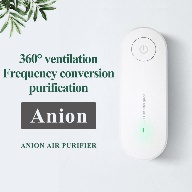 Mini Plug-in Negative ion Air Purifier Fresher