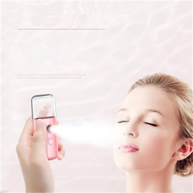 Nano Face Moisturizing Mist Spray Machine Facial Mister Humidifier