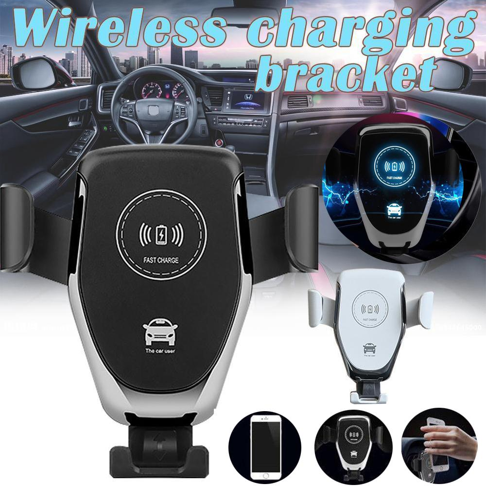 10W Fast Qi Wireless Car Charger Phone Holder - shopmeko