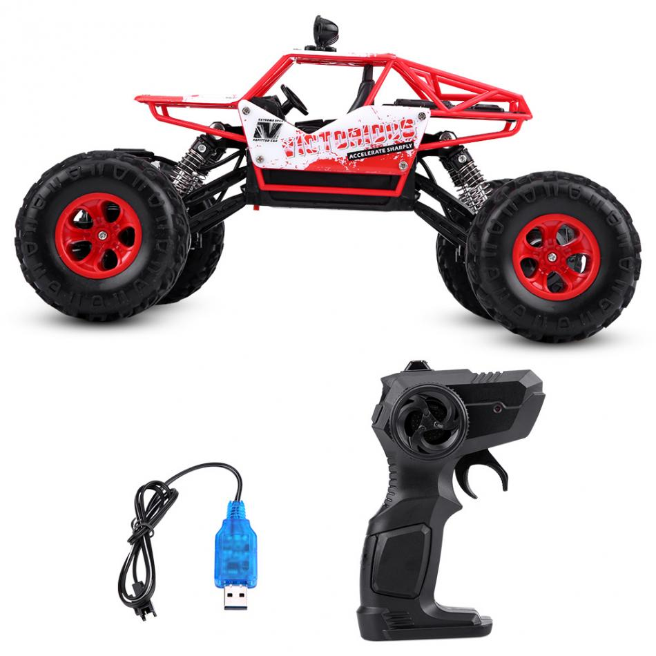 4WD 2.4Ghz 1:16 Crawlers Off Road Vehicle Toy Remote Control