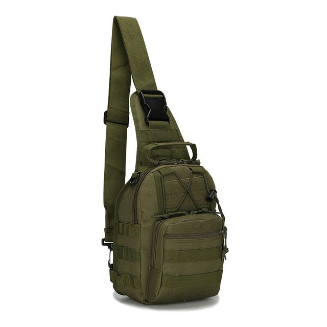 Military Tactical Bag with Molle Outdoor Chest Shoulder Bag