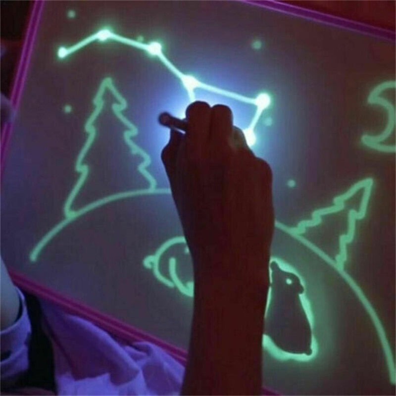 3D Magic Drawing Board LED Light Painting Board